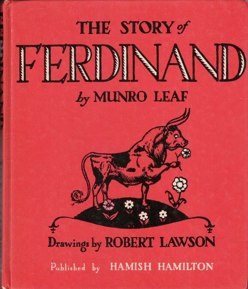 Ferdinand book cover