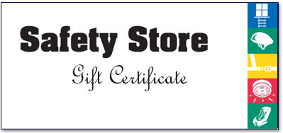Safety Store gift certificate