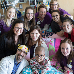 Katie's chemo party